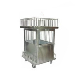 Commercial Plate Collection Trolley