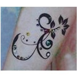 493d936eb3dc9 Designer Ankle Sticker Tattoo at Rs 60 /piece(s)   Temporary Tattoos ...