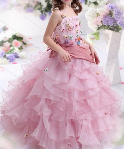 f6f5a9df5 Kids Party Wear Dress Flower Princess Gown, Age: 1-12, Rs 5000 ...