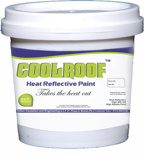 Heat Reflective Paint Paints Wall Putty Varnishes Indian Insulation Engineering In Phase