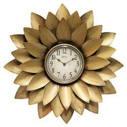 Iron Decorated Sunflower Wall Clock