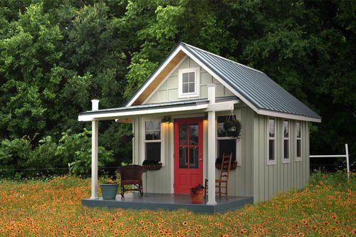 Prefab Backyard Guest House