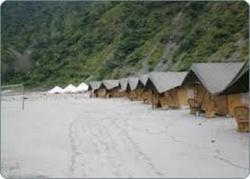 Beach Camp And River Rafting
