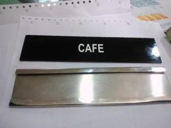 Sliding Name Plates, For Office
