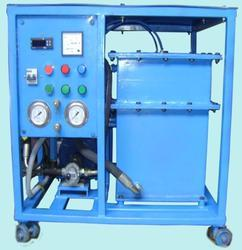 Industrial Oil Filter Machine