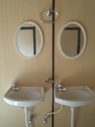 Washroom Interior With Mirror