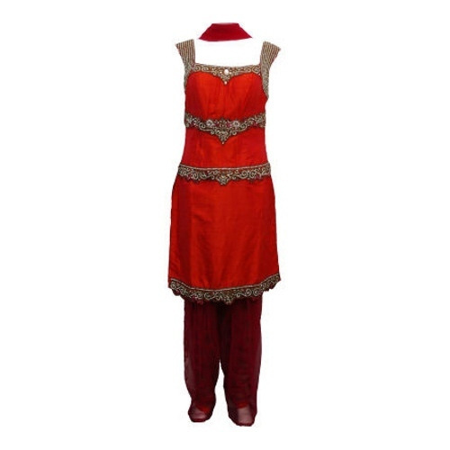 Unstitched Ladies Embroidered Suits in Ludhiana