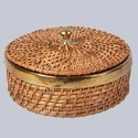 Fruit Wicker Closed Box