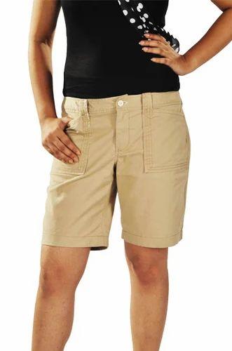 Khaki Knee Length Shorts, Bottoms | Gariahat Road South, Kolkata ...