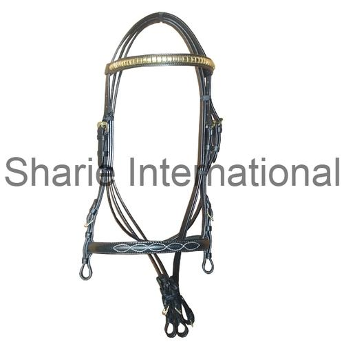 Leather Bitless Bridle - View Specifications & Details of
