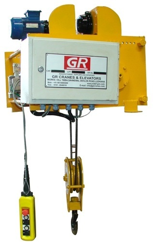 Electric Wire Rope Hoist at Rs 86000 /piece | Wire Rope Electric ...