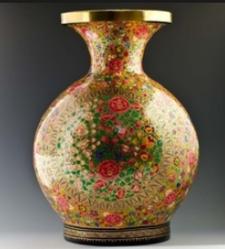 hand printed flower vase - Flower Vase