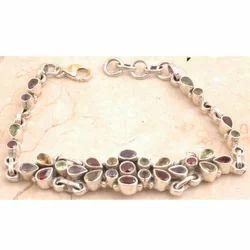 Citrine Bracelet in 925 Sterling Silver