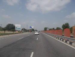 Highway Unipole Hoarding