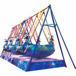 Amusement Ride Peacock Swing