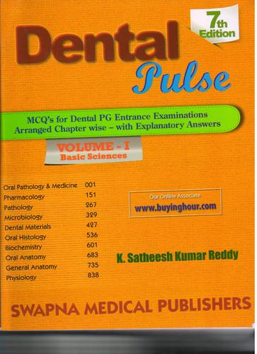 Dental Pulse Vol 1 7ed 2013 View Specifications Details Of