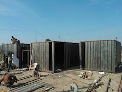 Mild Steel New Container Fabrication