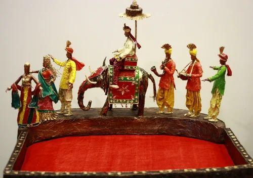 Haathi Baraat Wedding Tray