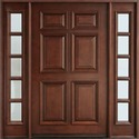 Solid Wood Designer Door