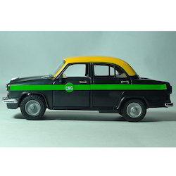 Ambassador Taxi Toy Car