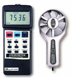 Lutron AM-4206 CFM/CMM Anemometer Air Flow Meter