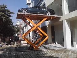 Car parking scissor Lift