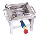 Square SS Canteen Gas Burner