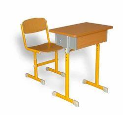 Adjustable Single Desk And  School Furniture