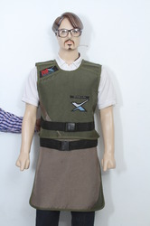 Men Lead Apron Skirt Vest