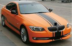 Orange Car Vinyl Wrapping Services, Packaging Type: Roll, Size: 5ft X20meters