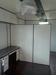 Portable Cabin With In Built Partition