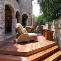 Natural Wooden Decking