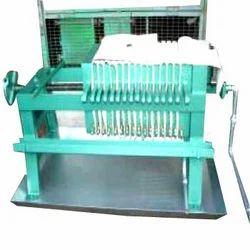 Cast Iron Recessed Filter Press
