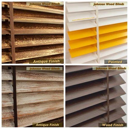 Wood Venetian Blinds Johnson Blinds Curtain Rods Manufacturer