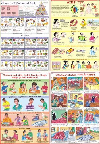 Health Amp Hygiene Charts Health Chart Manufacturer From