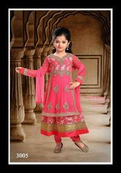 Double Layer Anarkali Suit