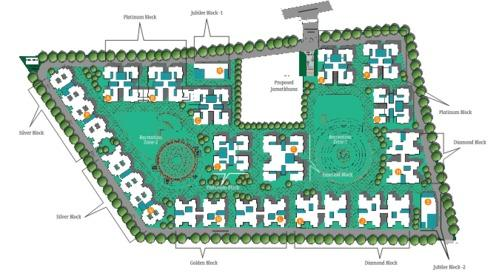 Garden Housing - Service Provider of Layout Plan & Diamond Block ...