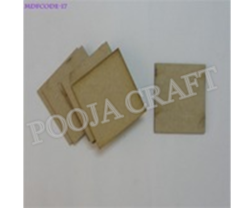 Square Shape Tea Coaster 3 Mm Thick Size Of 3.5''/3.5''
