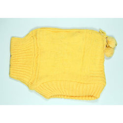 Yellow Kids Winter Woolen Cap