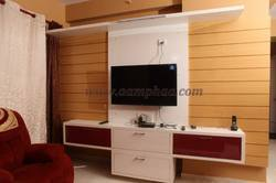 TV Stand With Wall Unit