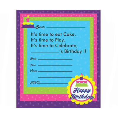 Birthday invitation card vintage manufacturer in kandivali east birthday invitation card stopboris Choice Image