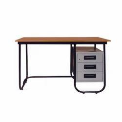 Harihar Steel CRCA Sheet 3 Drawer Office Table