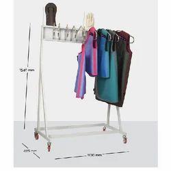 Lead Apron Storage Rack - Wall / Floor Model