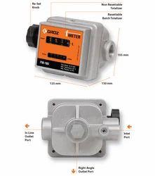 F Meter - High Accuracy Mechanical Fuel Meter