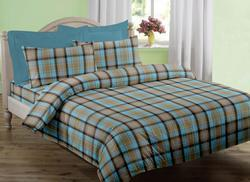 Alluring Checked Yarn Dyed Bedspreads