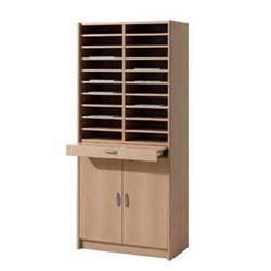 Wooden Storage Shelves