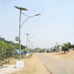 solar street light pole at rs 2900 piece solar street light pole