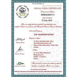 Halal India Certificate