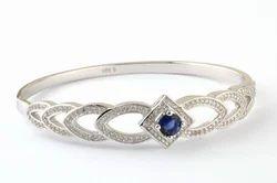 Designer Silver Ladies Bracelet