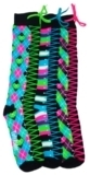TuffRider Kick Start Argyle Knee High 3 Pack Socks